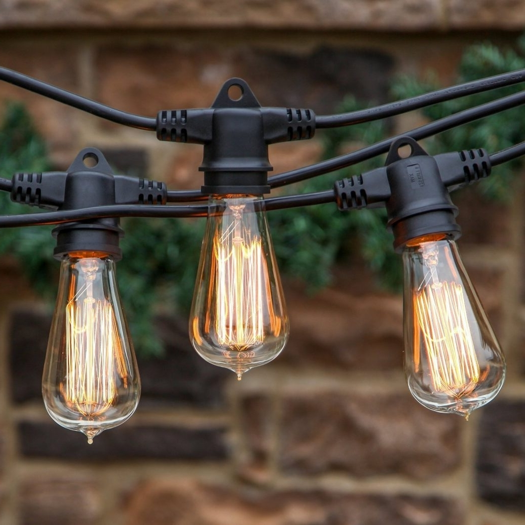 Battery Operateddoor String Lights Home Depot Patio Hanging Ideas Pertaining To Widely Used Hanging Outdoor String Lights At Home Depot (View 8 of 20)