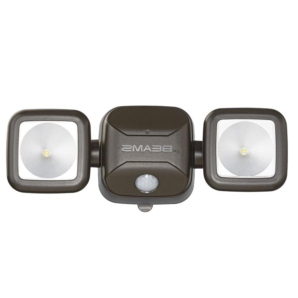 Battery – Outdoor Security Lighting – Outdoor Lighting – The Home Depot Throughout Best And Newest Battery Operated Outdoor Lights At Home Depot (View 18 of 20)