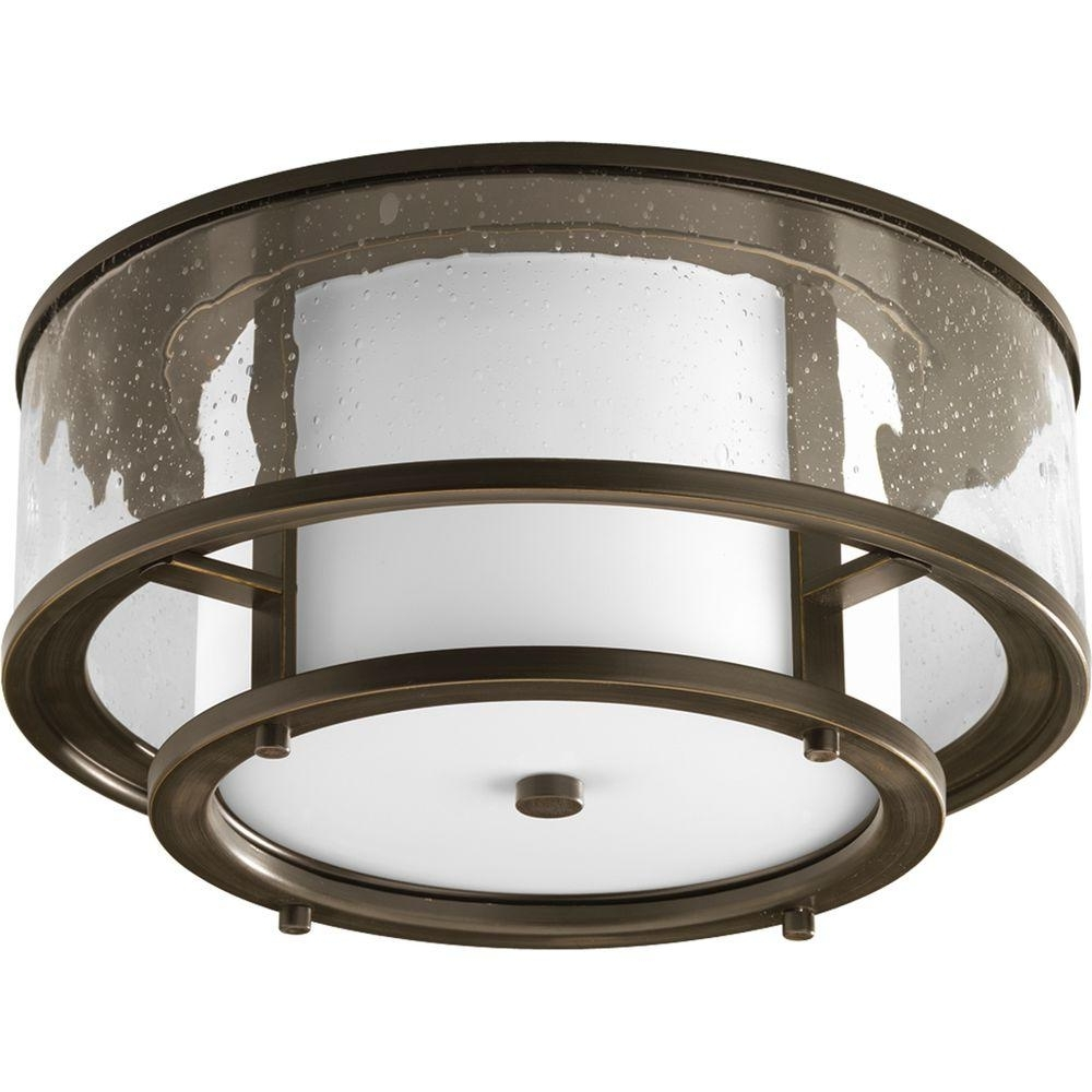 Beacon Outdoor Ceiling Lights For Most Recent Progress Lighting Beacon Collection Stainless Steel Outdoor (Gallery 14 of 20)