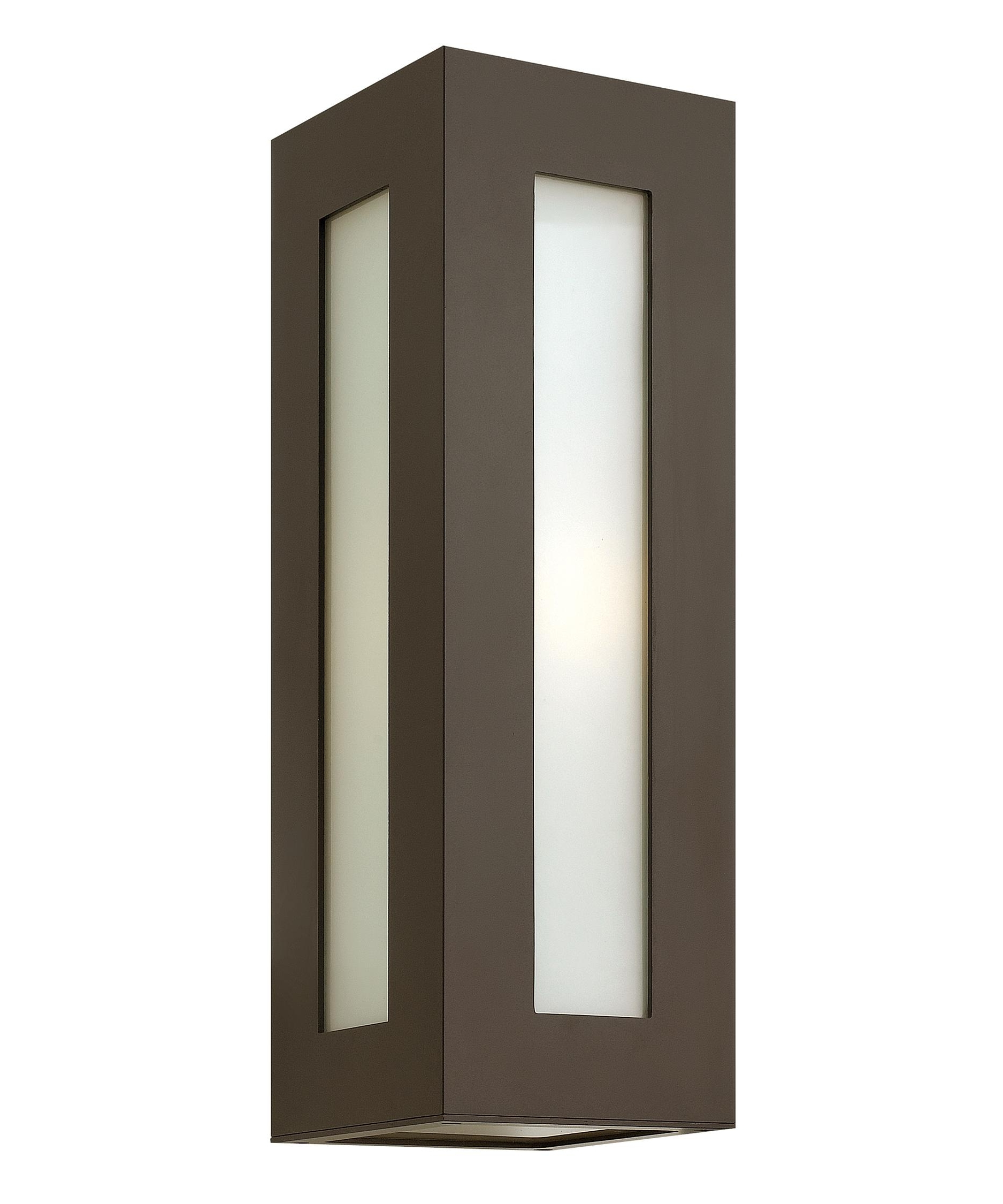 Best And Newest Contemporary Outdoor Wall Lighting With Regard To Hinkley Lighting 2194 Dorian 6 Inch Wide 1 Light Outdoor Wall Light (View 15 of 20)