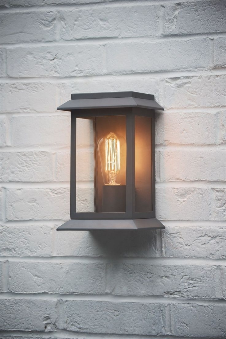 Best And Newest Contemporary Porch Light Fixtures For Garden Pertaining To Outdoor Garage : Outdoor Wall Lamp Exterior Garage Lights Outside (View 2 of 20)