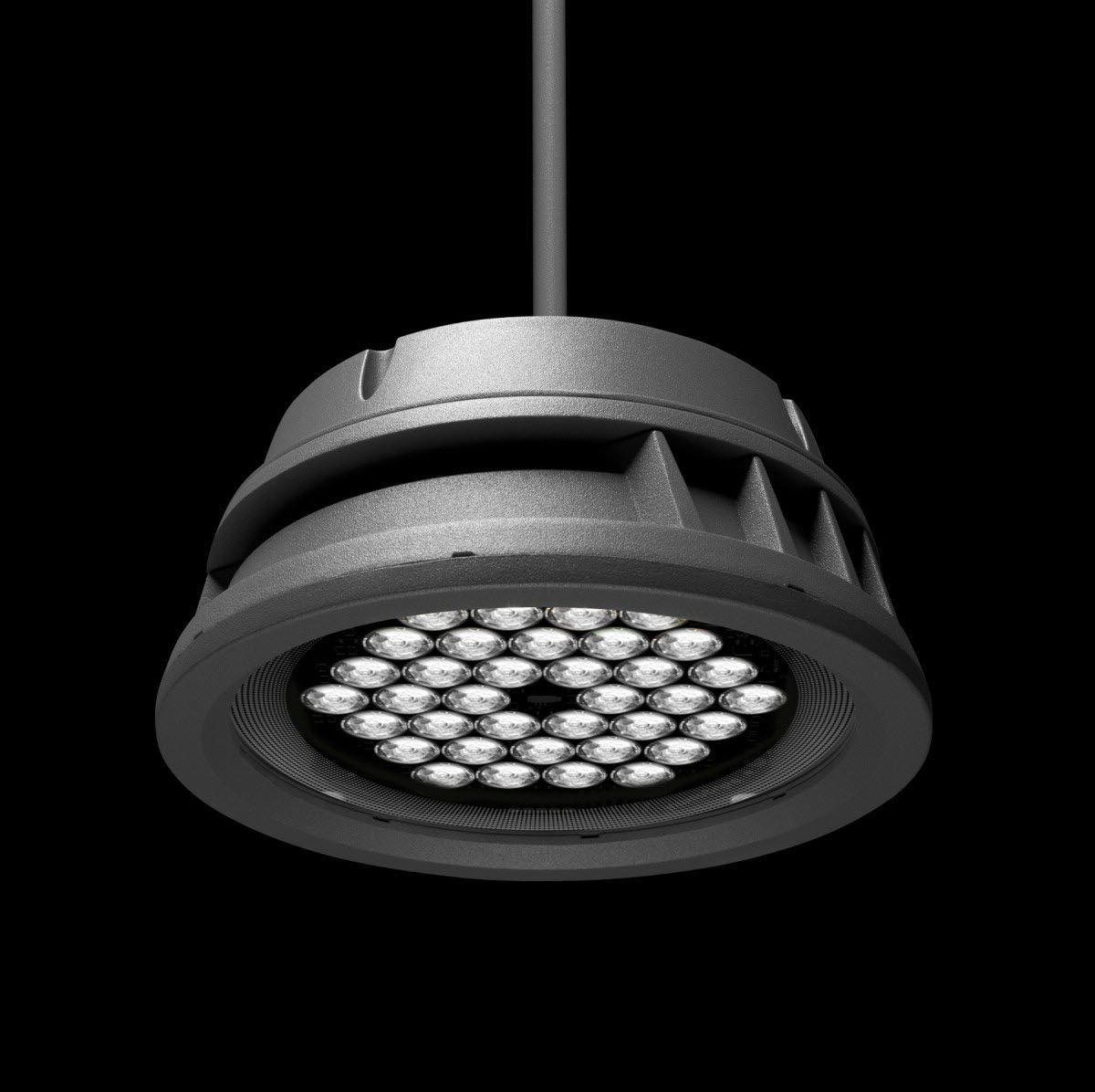 Best And Newest Hanging Light Fixture / Led / Round / Outdoor – Lumenbeam Large With Regard To Round Outdoor Hanging Lights (View 2 of 20)