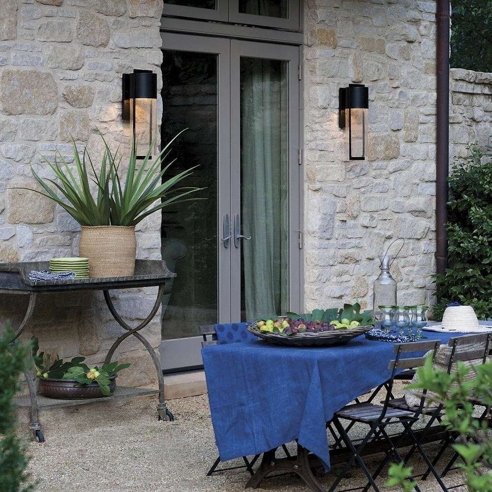 Best And Newest Hinkley Lighting Shelter Outdoor Wall Sconcelumens – Dwell Intended For Hinkley Lighting For Home Garden (View 10 of 20)