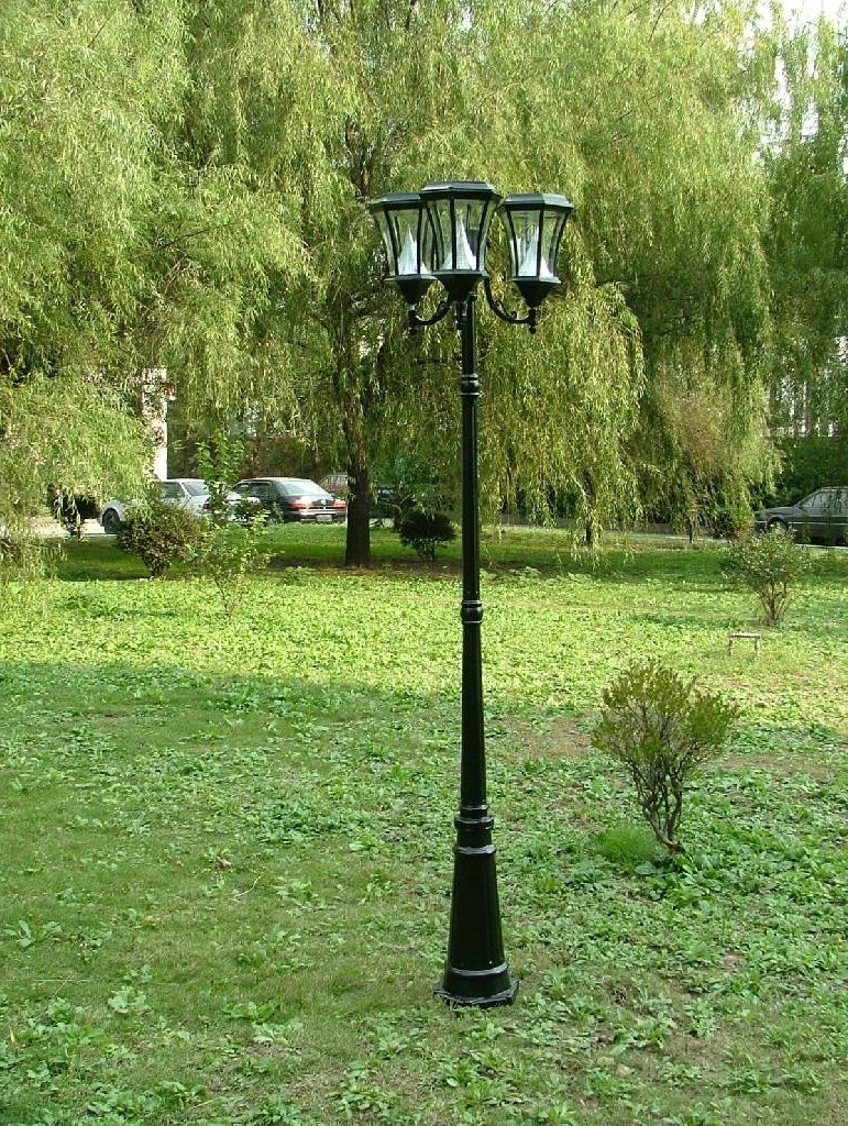 Best And Newest Modern Outdoor Solar Lights At Target With Regard To Outdoor Pole Lights Posts Residential – Outdoorlightingss (View 1 of 20)