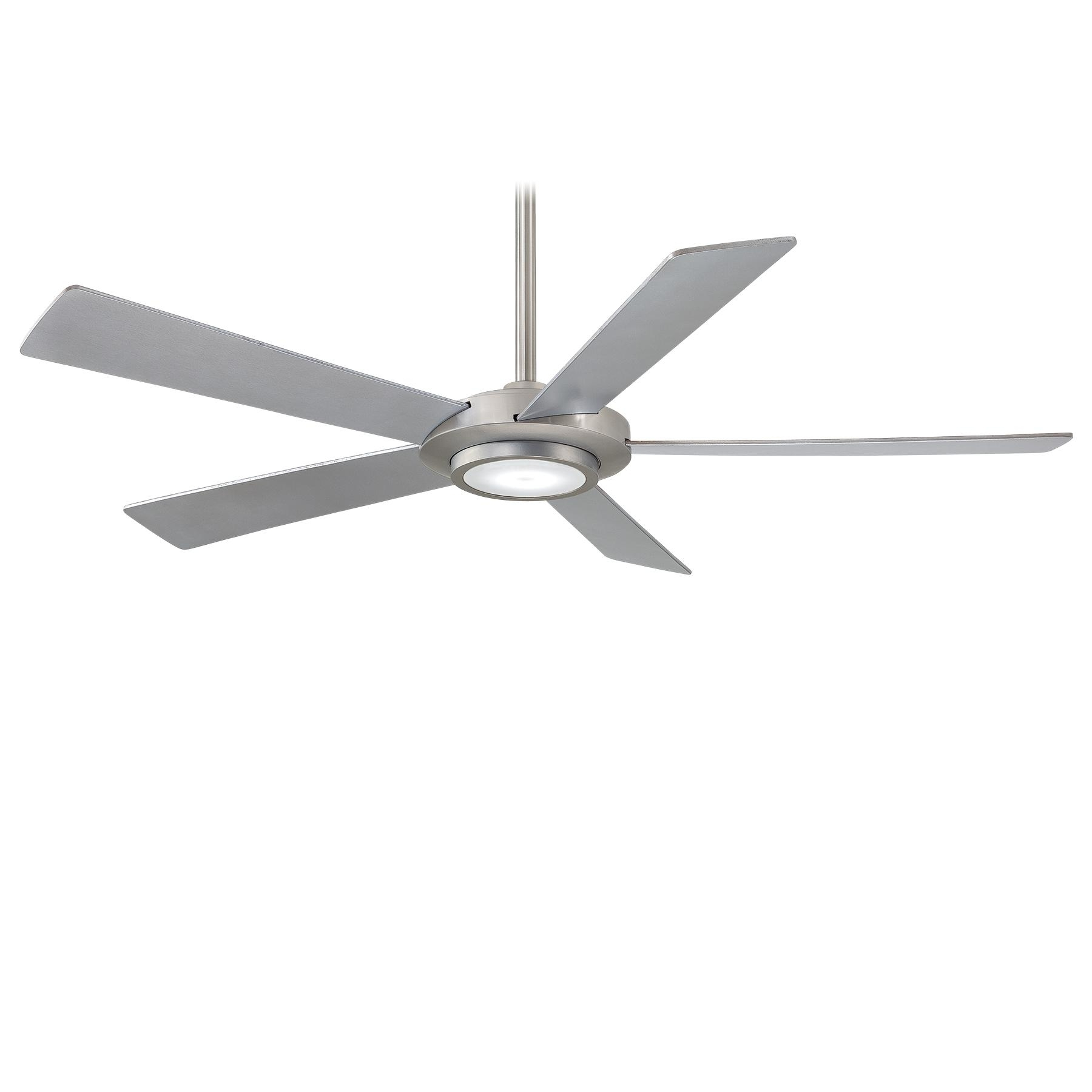 Best And Newest Outdoor Ceiling Fans With Led Lights With Regard To Ceiling Fan With Lightminka Aire (View 1 of 20)
