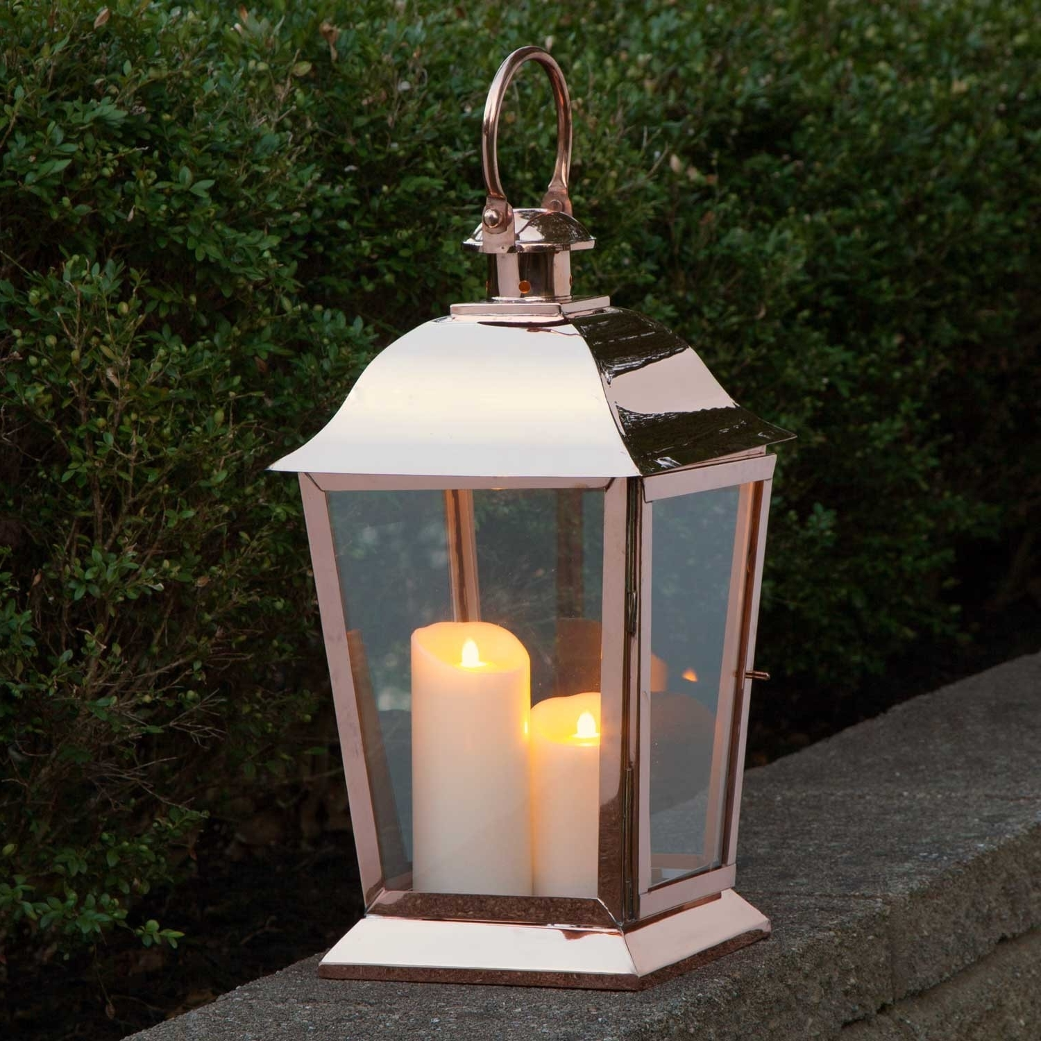 Best And Newest Outdoor Hanging Candle Lanterns Within Garden & Outdoor: Fantastic Candle Lanterns For Outdoor Lighting (View 4 of 20)