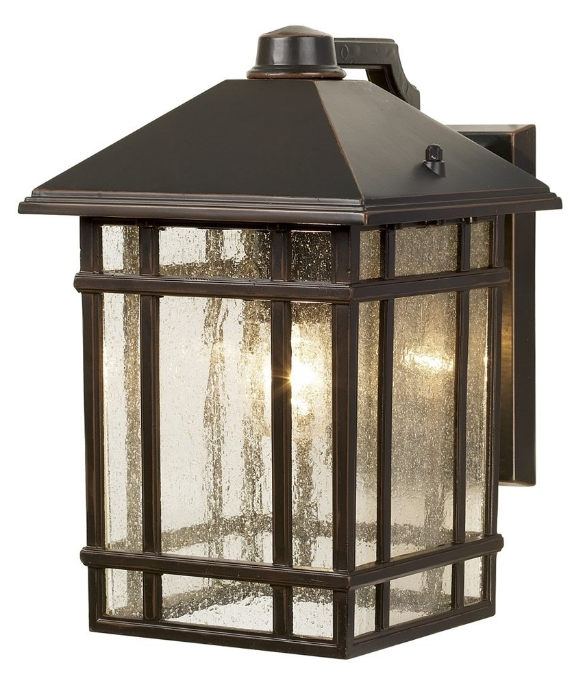 "Best And Newest Outdoor Hanging Lanterns At Amazon Within Jardin Du Jour Sierra Craftsman 11"" High Outdoor Wall Light – Wall (Gallery 15 of 20)"
