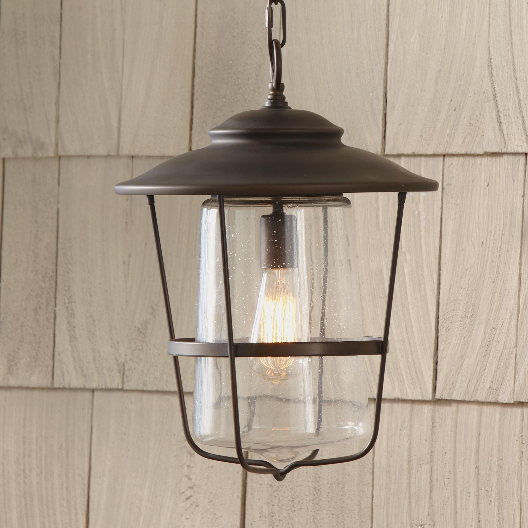 Best And Newest Outdoor Hanging Lights Wayfair Remington Lantern ~ Loversiq Inside Battery Operated Outdoor Lights At Wayfair (View 5 of 20)