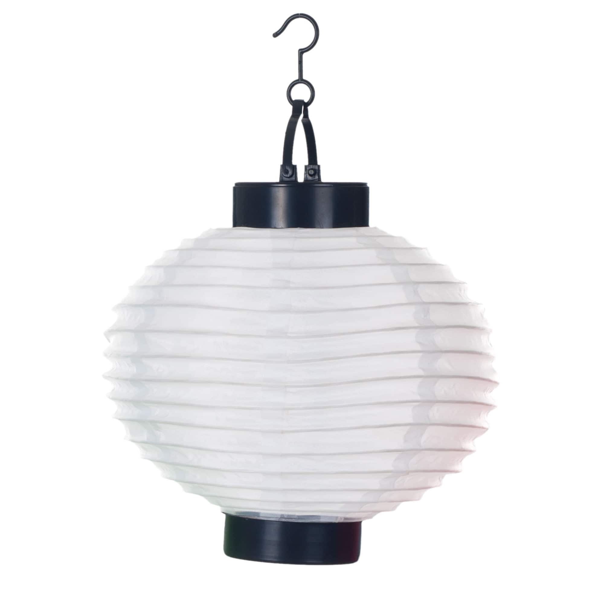 Best And Newest Outdoor Solar Ceiling Lights In Pure Garden Outdoor Solar Led White Chinese Lanterns (Set Of (View 4 of 20)