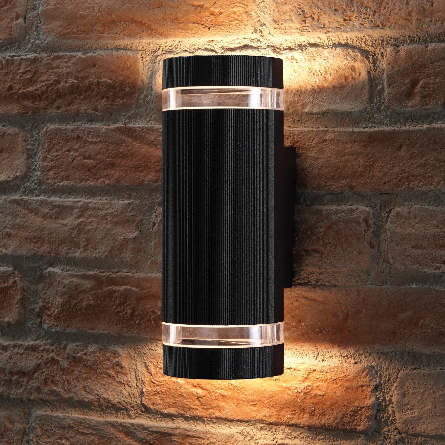 Best And Newest Outdoor Up Down Wall Led Lights With Regard To Dorchester Double Up And Down Led Wall Light – Transform The Outside (Gallery 7 of 20)