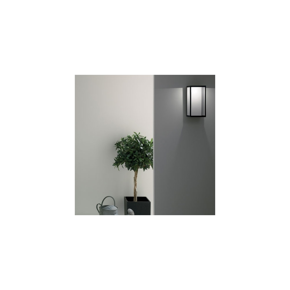 Best And Newest Outdoor Wall Spotlights Throughout Outdoor Wall Lighting Black (View 4 of 20)