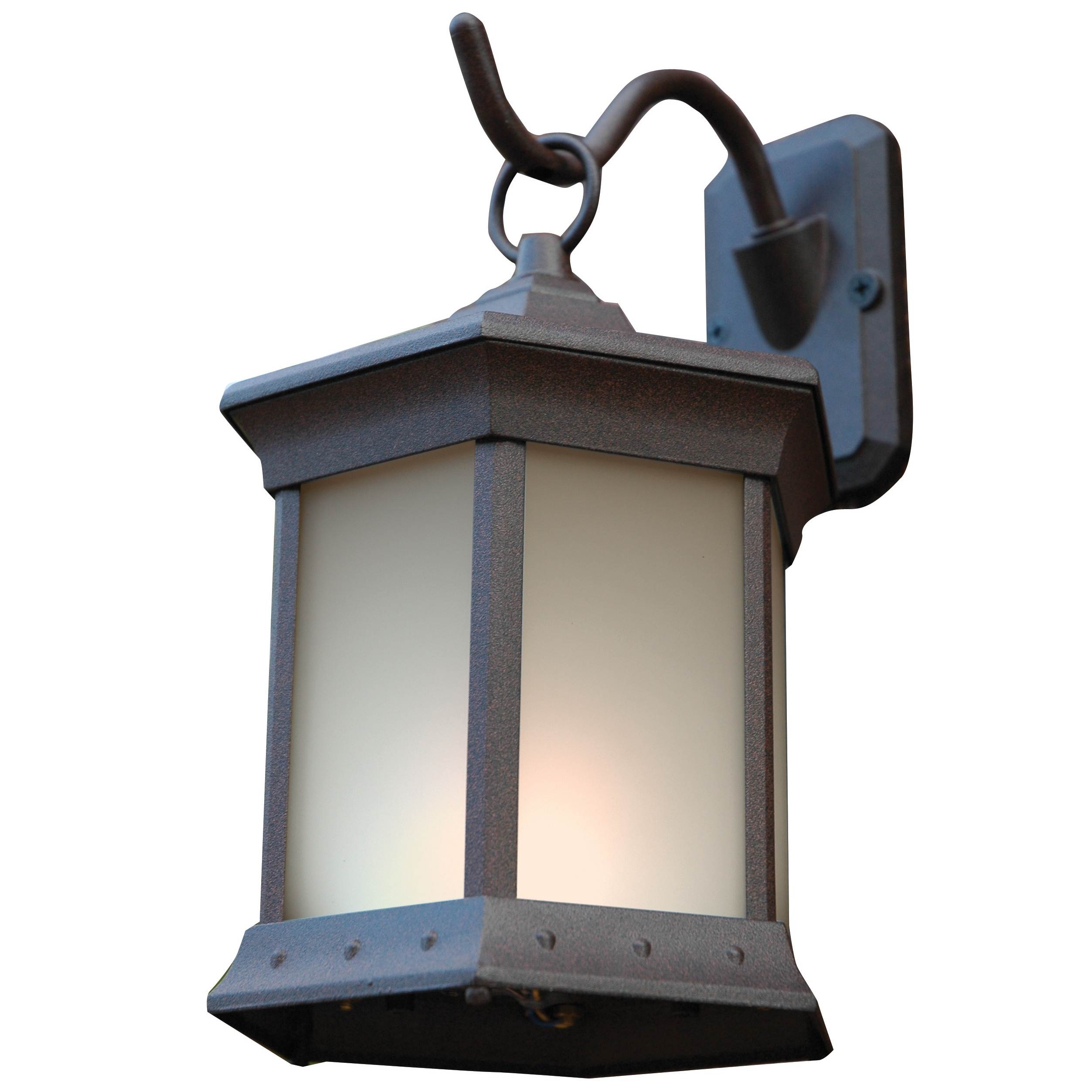 Best And Newest Rustic Outdoor Wall Lighting Wayfair 1 Light Lantern Set Of 2 ~ Loversiq With Rustic Outdoor Lighting At Wayfair (View 2 of 20)
