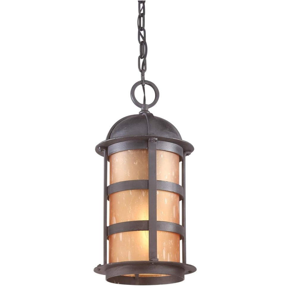 Best And Newest Troy Lighting Aspen 1 Light Natural Bronze Outdoor Pendant F9255nb With Regard To Troy Outdoor Hanging Lights (View 14 of 20)