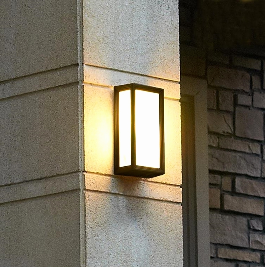 Best Home Template Pertaining To Trendy Contemporary Outdoor Wall Lights (Gallery 10 of 20)