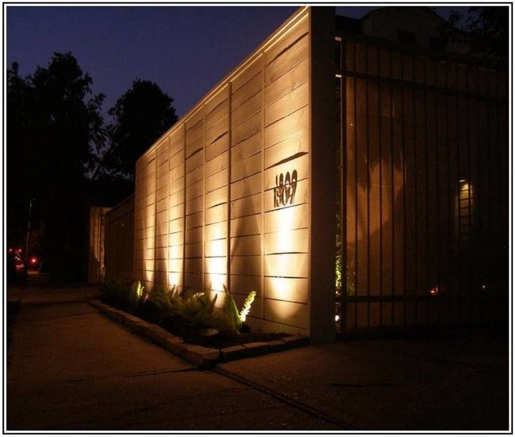 Best Modern Outdoor Lighting (View 2 of 20)