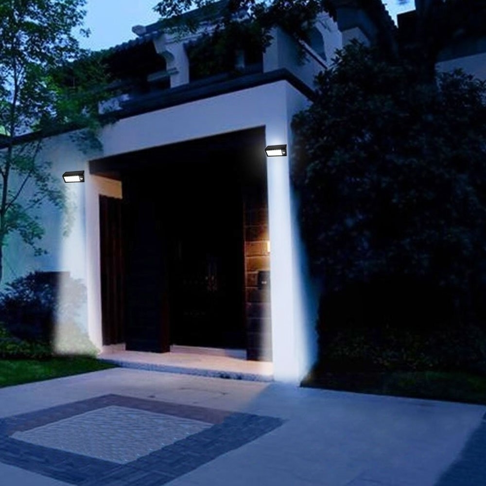 Best Solar Powered Led Outdoor Lights – Outdoor Designs Intended For Well Known Solar Powered Outdoor Wall Lights (View 12 of 20)