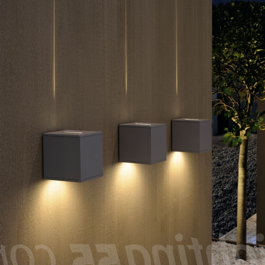 Big Outdoor Wall Lighting With Regard To Most Up To Date Big Theo Beam Outdoor Wall Lightslv Lighting At Lighting (View 10 of 20)