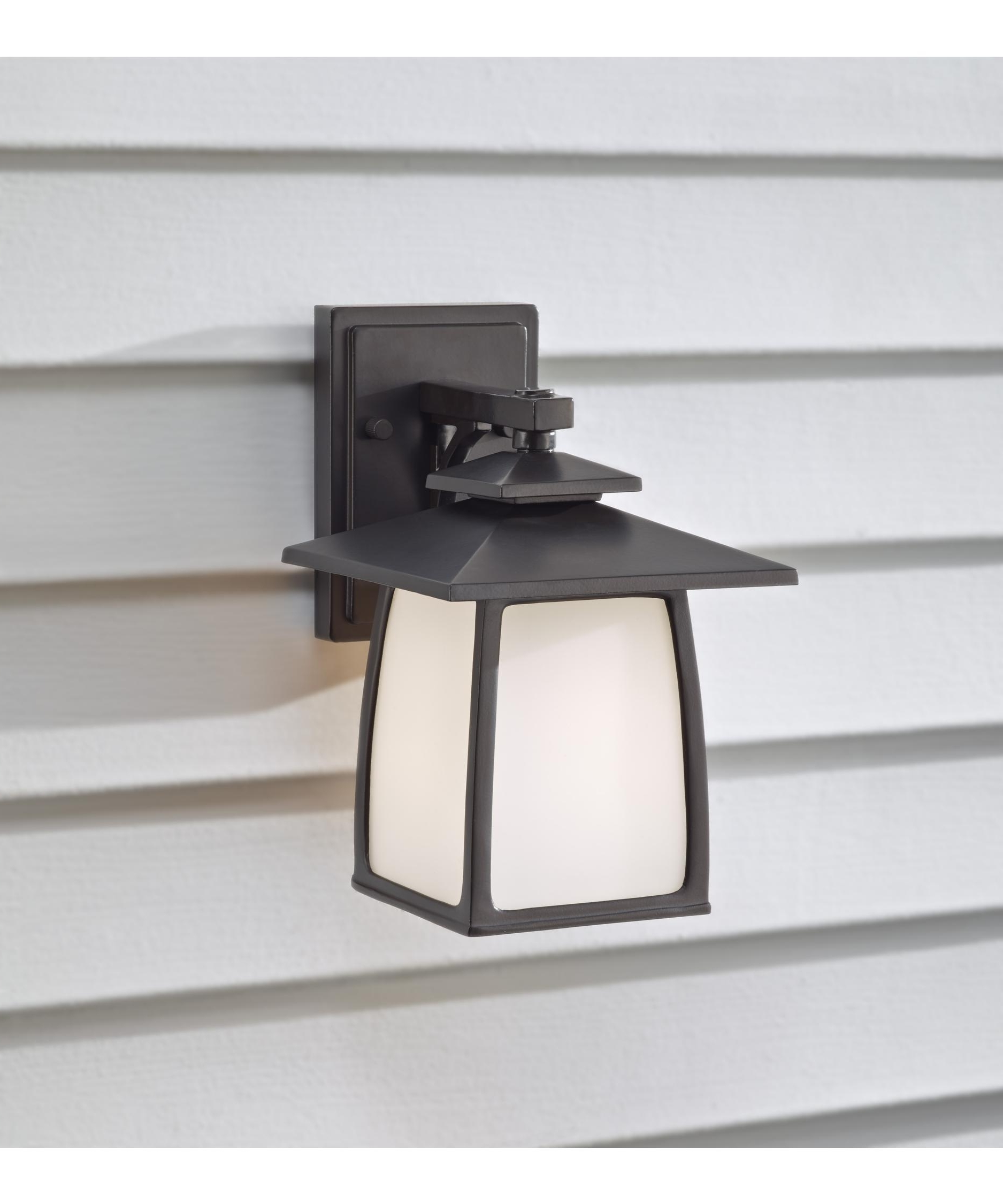 Big Outdoor Wall Lighting With Widely Used Murray Feiss Ol8500 Wright House 7 Inch Wide 1 Light Outdoor Wall (View 18 of 20)
