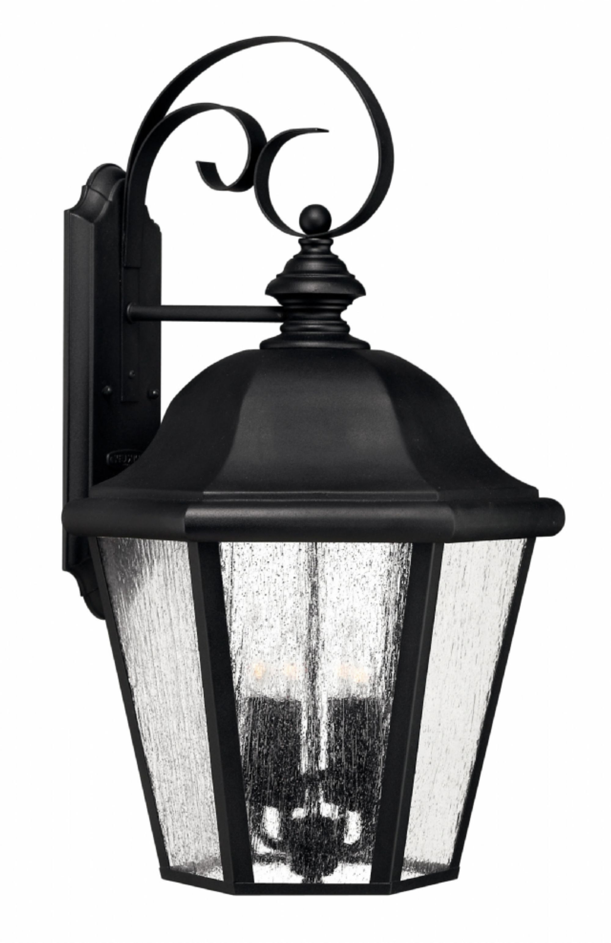 Black Edgewater > Exterior Wall Mount In Most Recent Outdoor Wall Sconce Lighting Fixtures (View 3 of 20)