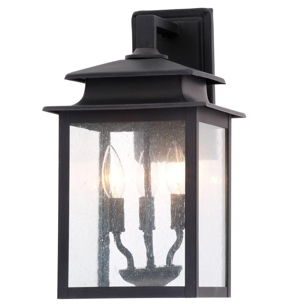 Black Exterior Lights – Dayri For Recent Extra Large Outdoor Wall Lighting (Gallery 19 of 20)