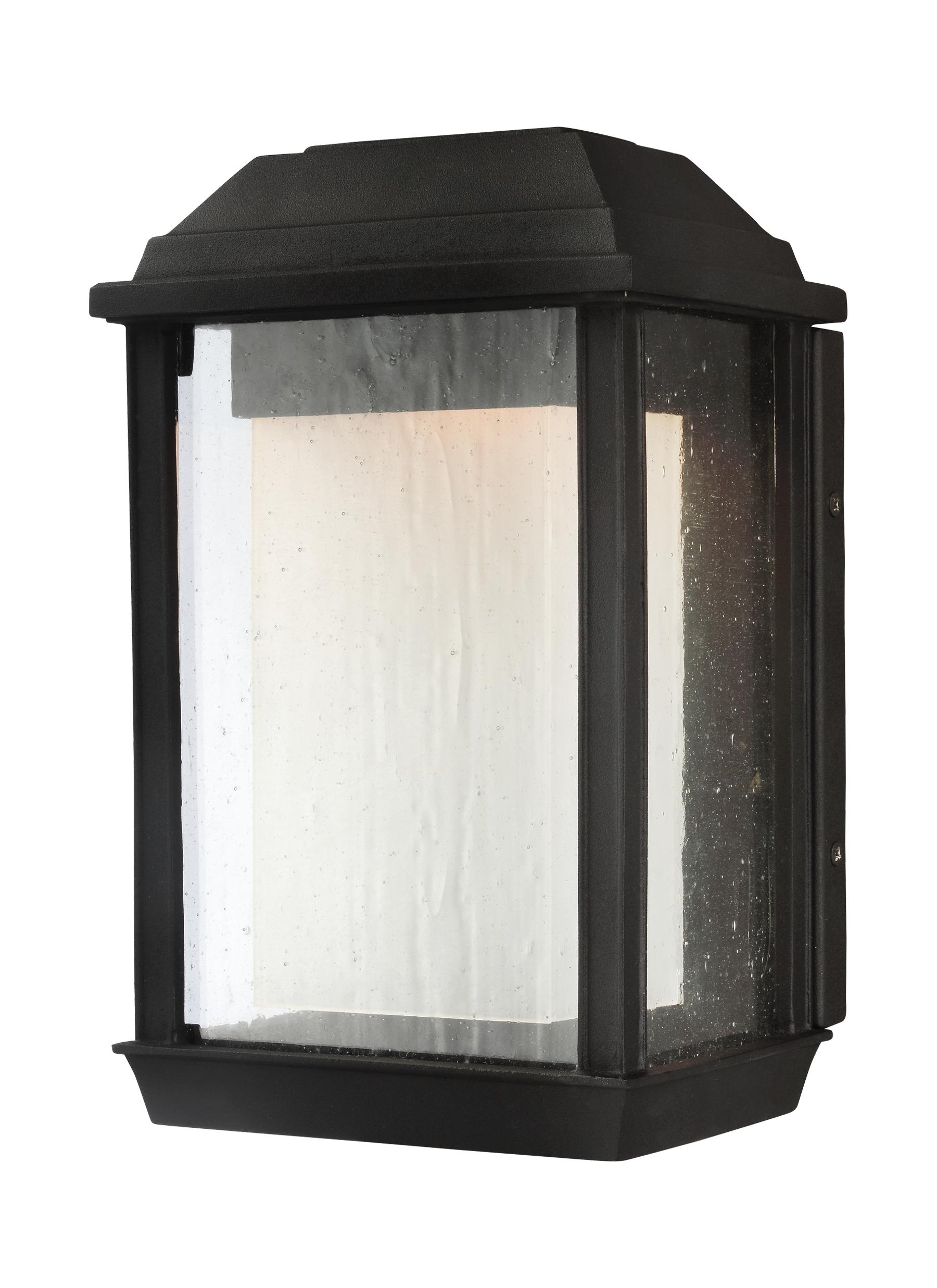 Black Outdoor Led Wall Lights Inside Most Recent Ol12800txb Led,1 – Light Outdoor Led Wall Lantern,textured Black (View 20 of 20)