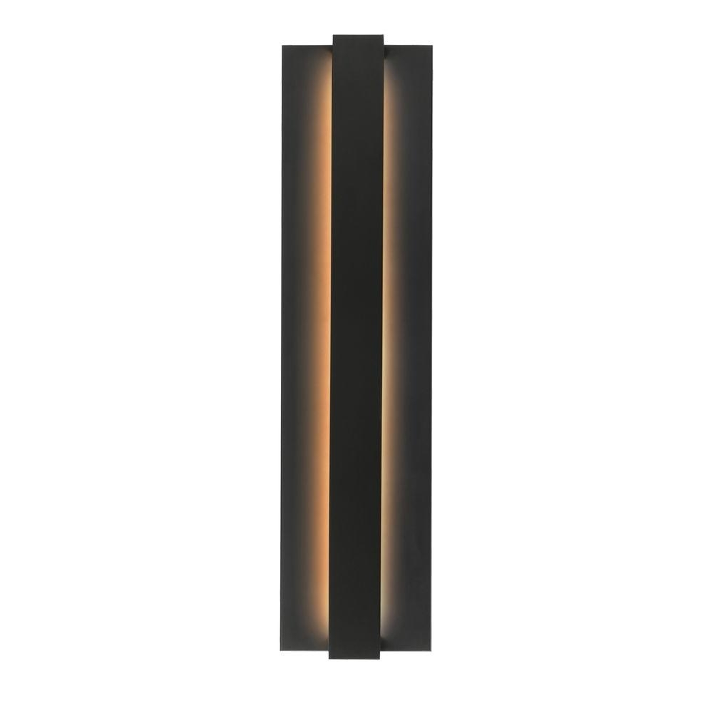 Black Outdoor Led Wall Lights With Well Known Lbl Lighting Windfall 1 Light Black Outdoor Led Sconce Od785blledw (View 10 of 20)