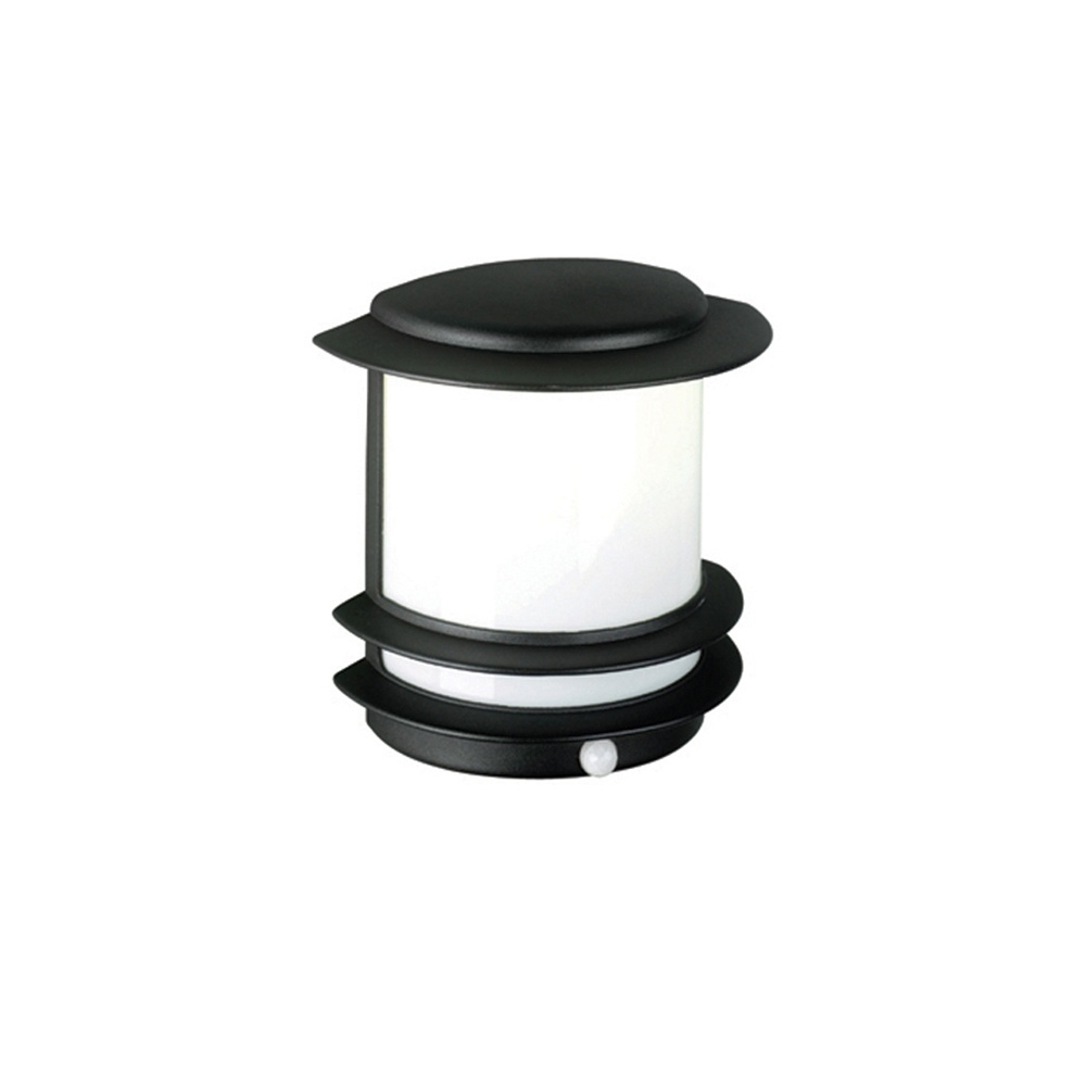 Black Outdoor Wall Lights With Pir – Outdoor Designs Throughout Favorite Outdoor Wall Lights With Pir (View 3 of 20)