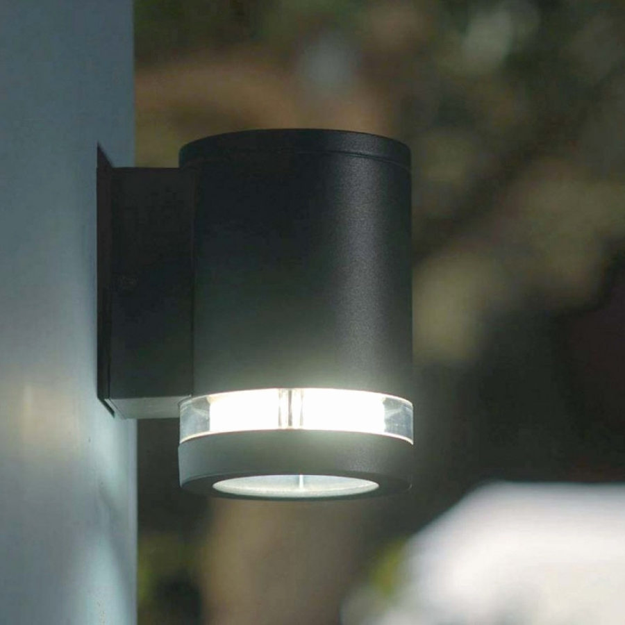 Black Up Down Outdoor Wall Lights (View 10 of 20)