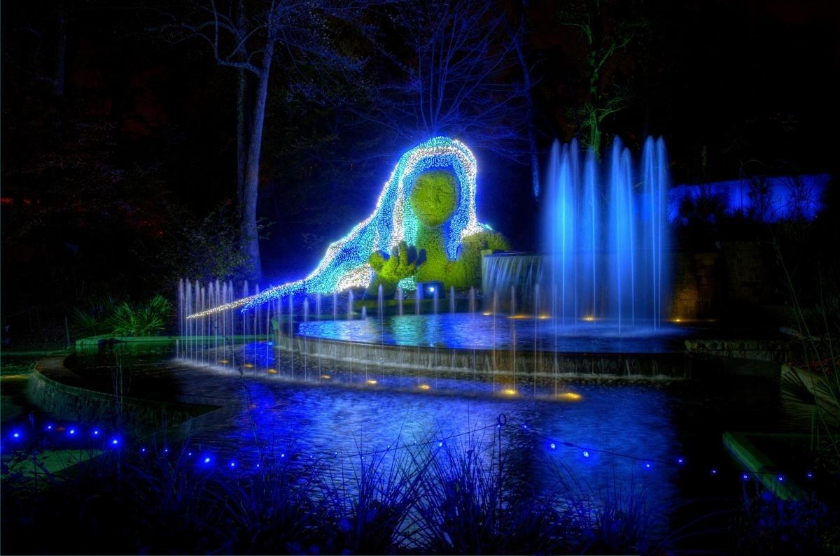 Botanical Garden Lights With Regard To 2018 Atlanta Botanical Gardens Lights (View 6 of 20)