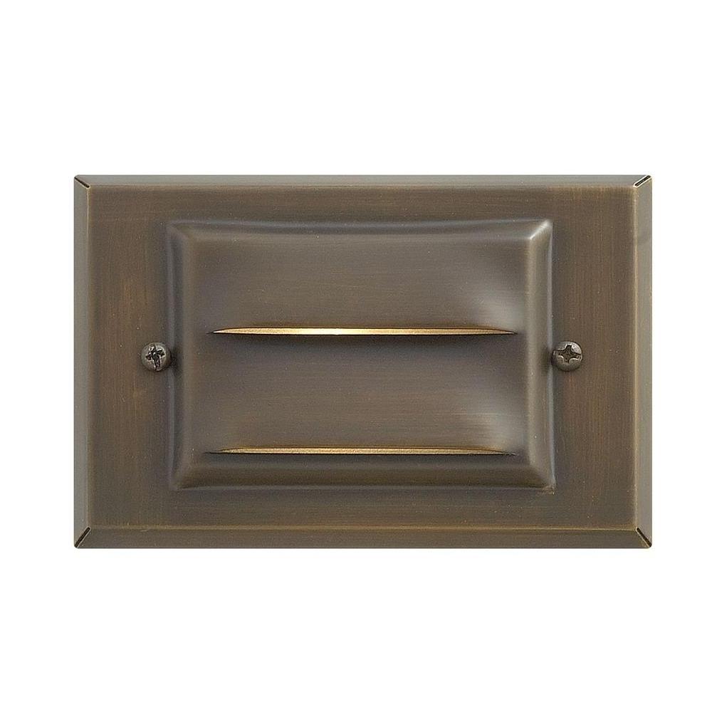 Brass Porch Hinkley Lighting Regarding Best And Newest Hinkley Lighting Matte Bronze Recessed Led Outdoor Deck Light 1546mz (View 14 of 20)