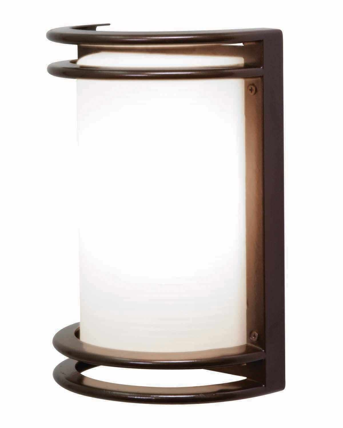 Bronze Zephyr Contemporary Outdoor Wall Sconce — Photo Designs Intended For Most Current Contemporary Outdoor Wall Lighting (View 3 of 20)