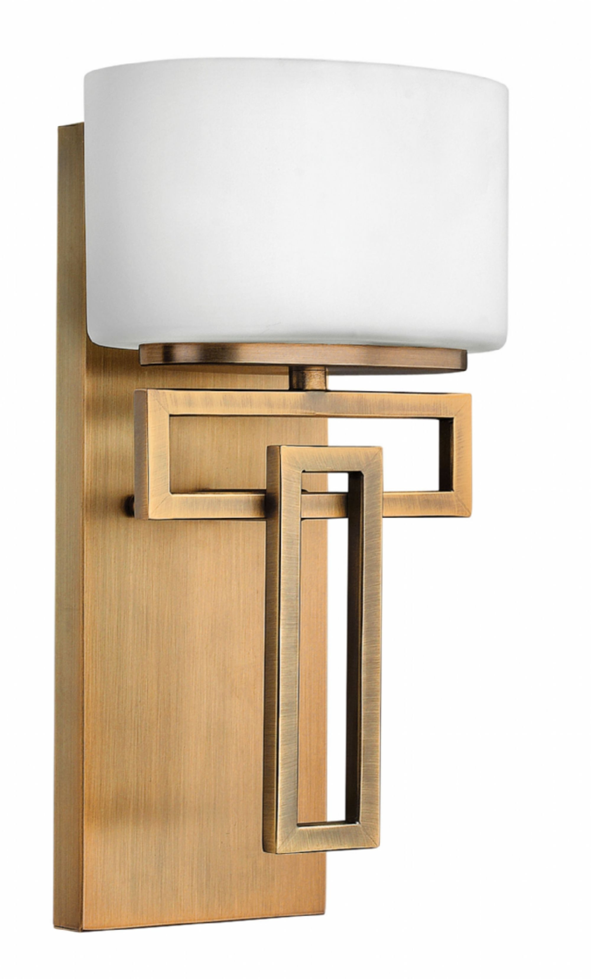 Brushed Bronze Lanza > Interior Wall Mount Throughout Recent Contemporary Hinkley Lighting (View 20 of 20)