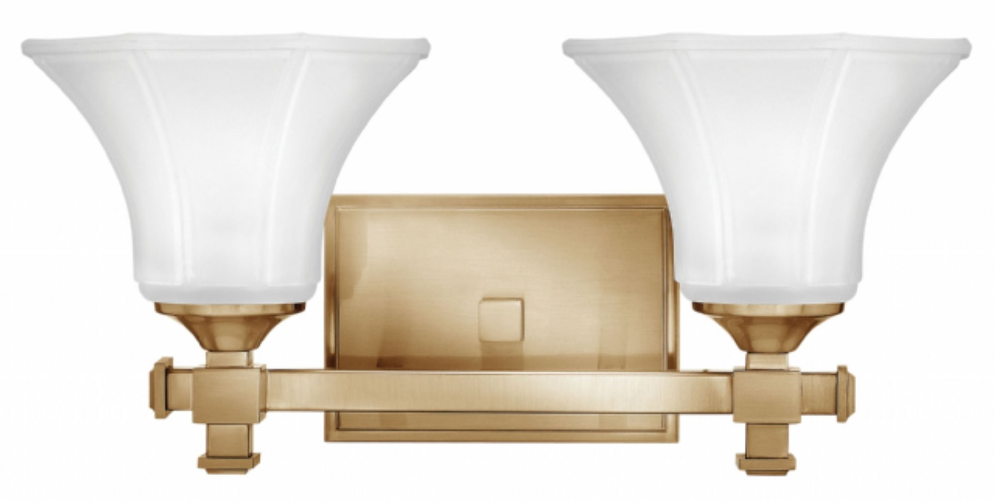 Brushed Caramel Abbie > Interior Wall Mount For Recent Double Wall Mount Hinkley Lighting (View 18 of 20)