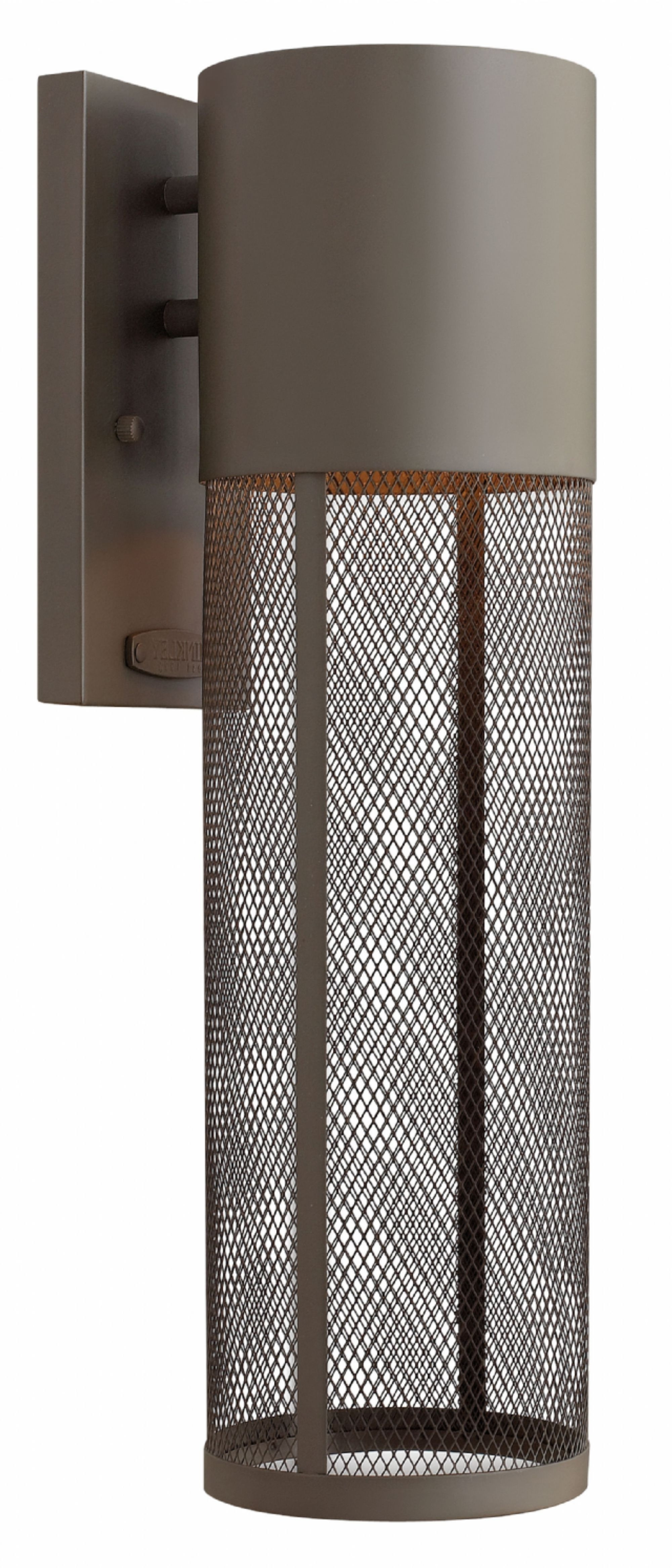 Buckeye Bronze Aria > Exterior Wall Mount With Well Known Large Wall Mount Hinkley Lighting (View 5 of 20)