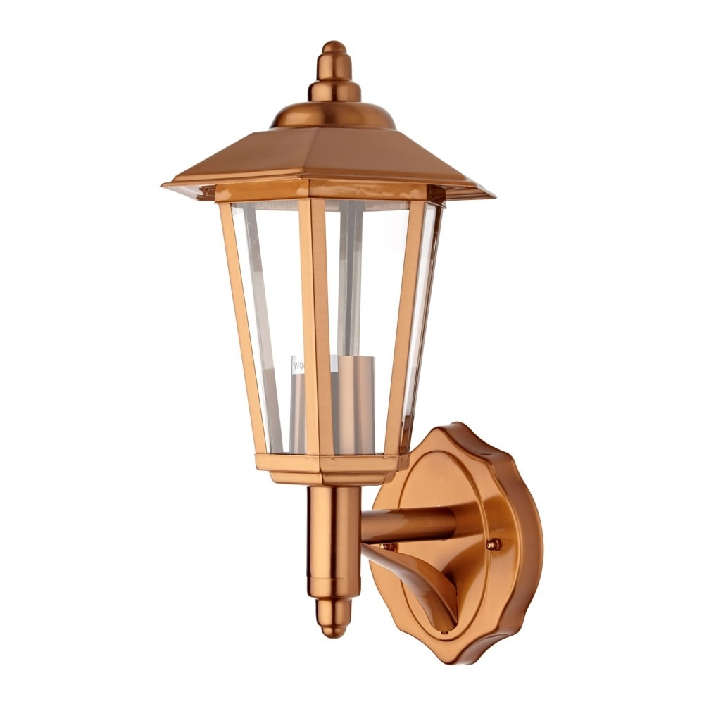 Cannes Copper Outdoor Wall Lantern Pertaining To Fashionable Copper Outdoor Wall Lighting (View 2 of 20)
