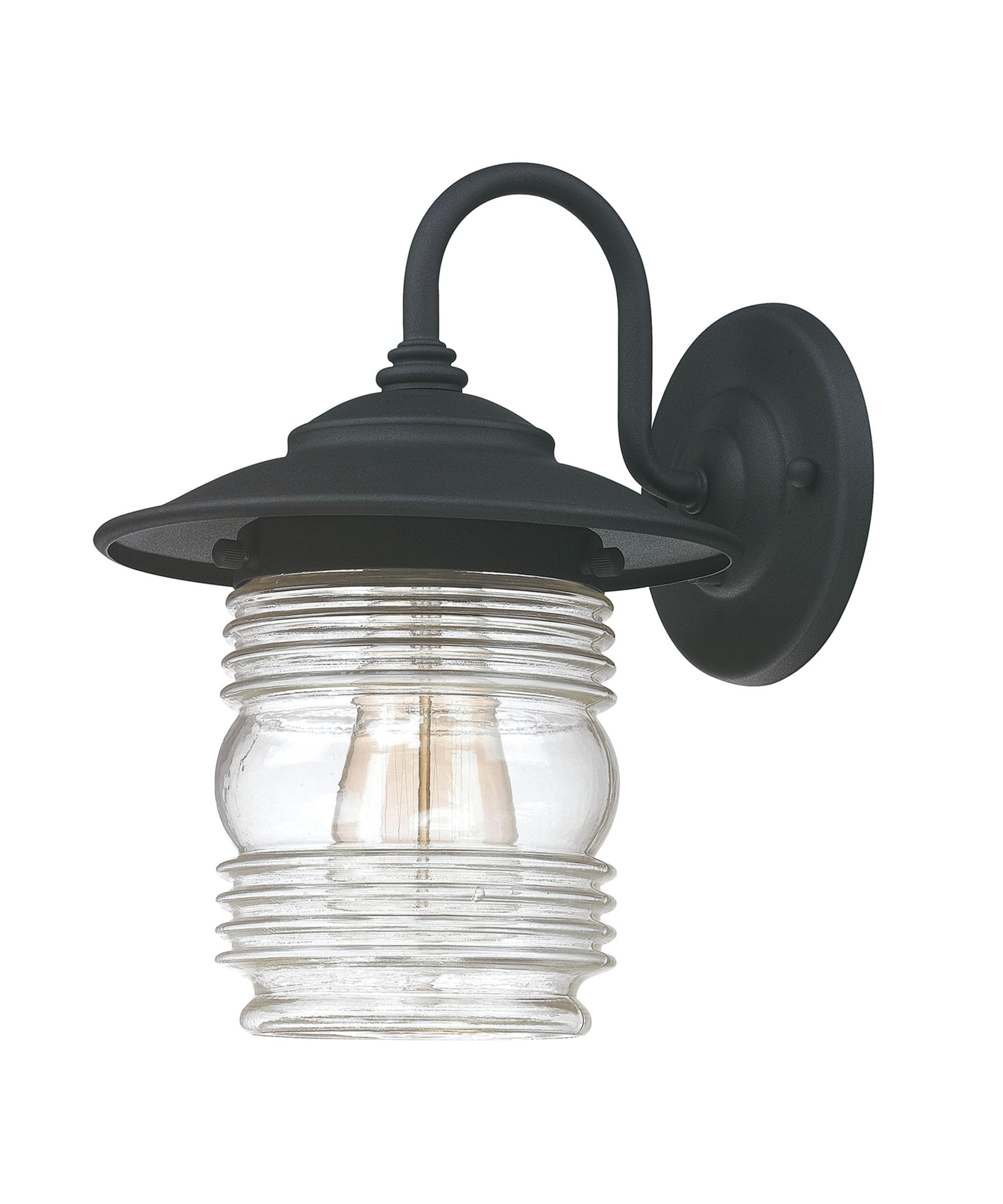 Capital Lighting 9671 Creekside 8 Inch Wide 1 Light Outdoor Wall Within Newest Retro Outdoor Wall Lighting (Gallery 20 of 20)
