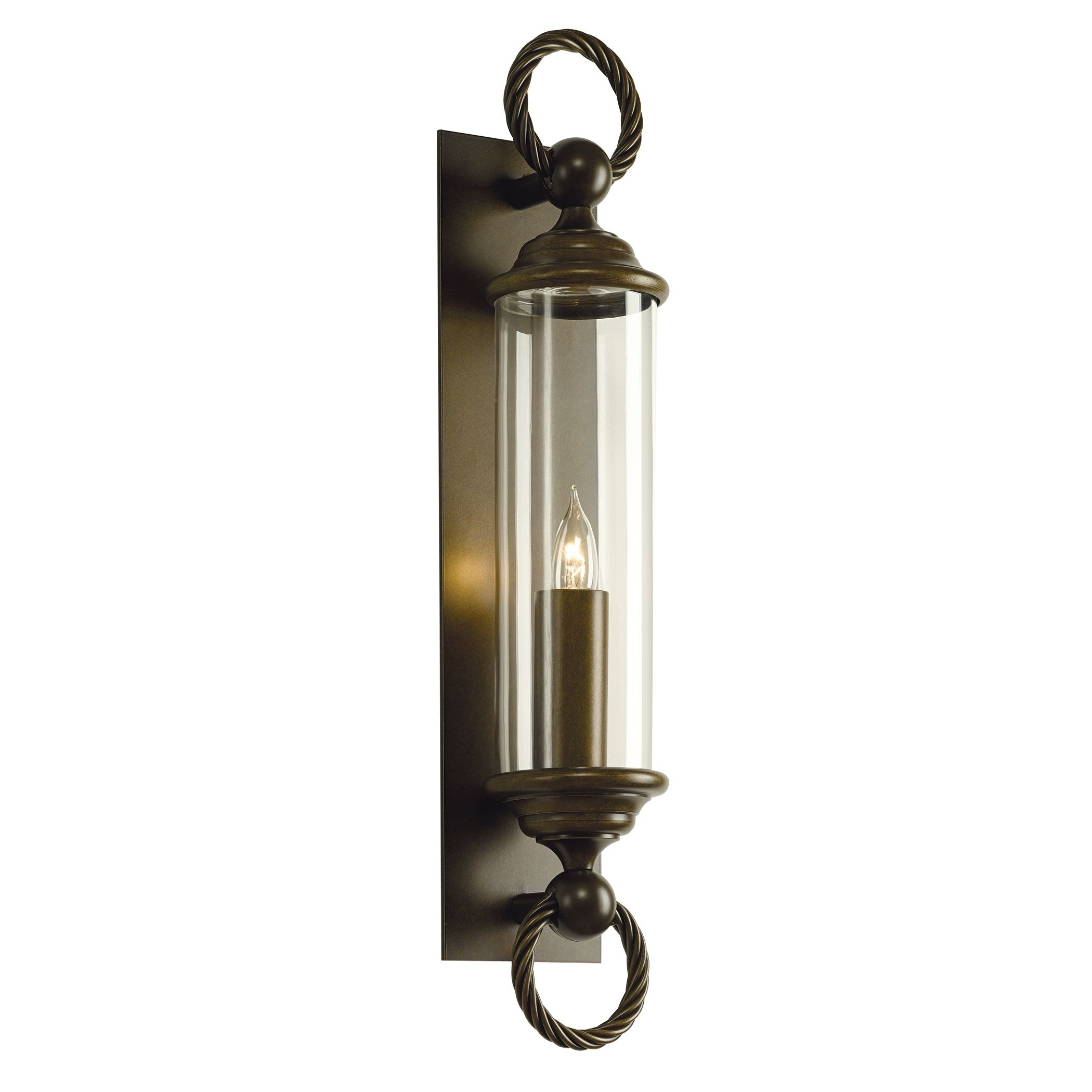 Cavo Large Outdoor Wall Sconce – Hubbardton Forge Regarding Fashionable Large Outdoor Wall Lighting (View 5 of 20)