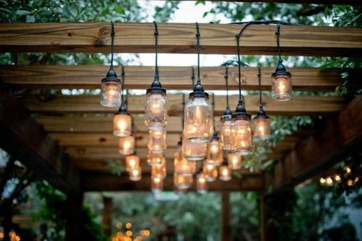 Chandeliers Design : Wonderful Modern Outdoor Chandelier Lighting Within Well Known Rustic Outdoor Lighting For Modern Garden (View 3 of 20)