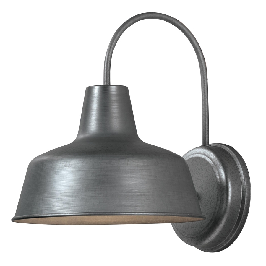 Cheap Outdoor Wall Lighting Fixtures Throughout Most Current Shop Portfolio Ellicott  (View 6 of 20)