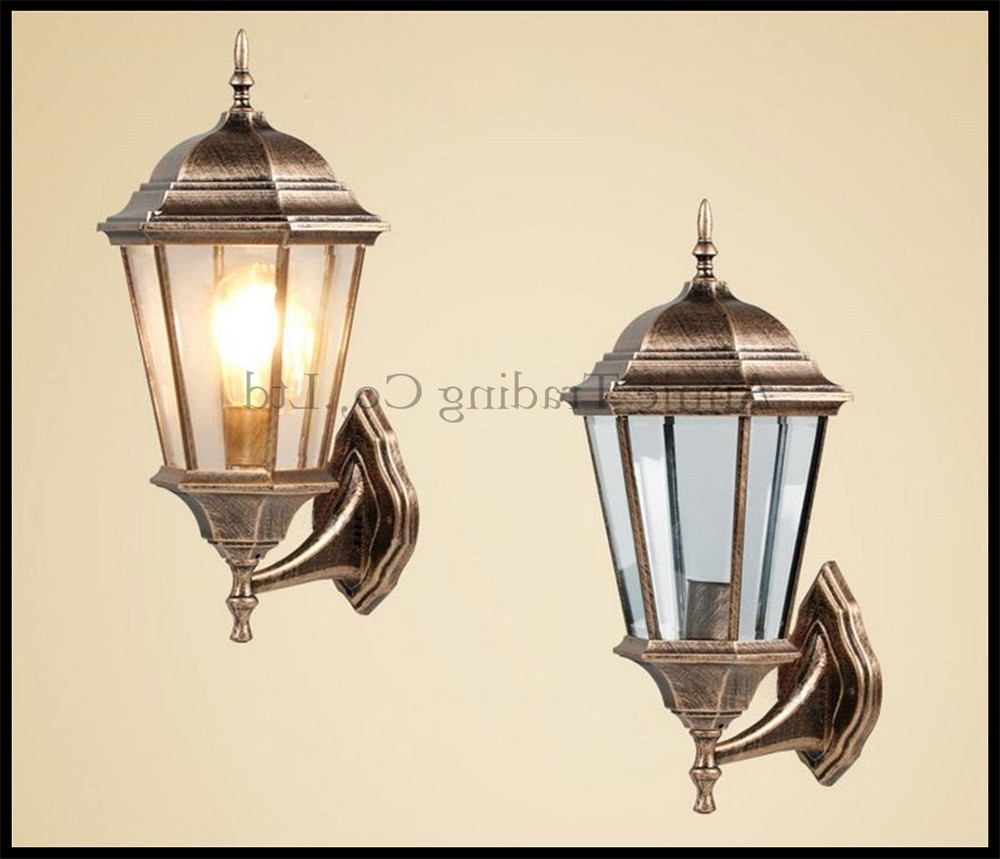 China Outdoor Wall Lighting For Most Current Popular Outdoor Sconce Buy Cheap Outdoor Sconce Lots From China (View 18 of 20)