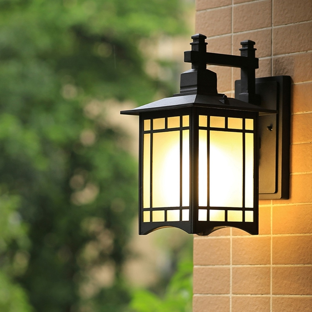 China Outdoor Wall Lighting Intended For 2019 Balcony Wall Lamp European Waterproof Retro Outdoor Wall Lamp (View 7 of 20)