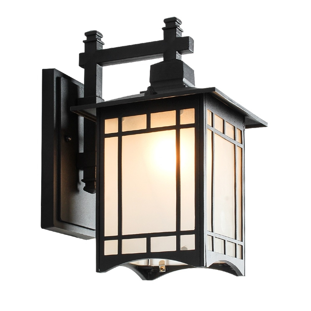 China Outdoor Wall Lighting Regarding Preferred European Style Waterproof Retro Balcony Outdoor Wall Lamp Chinese (View 8 of 20)