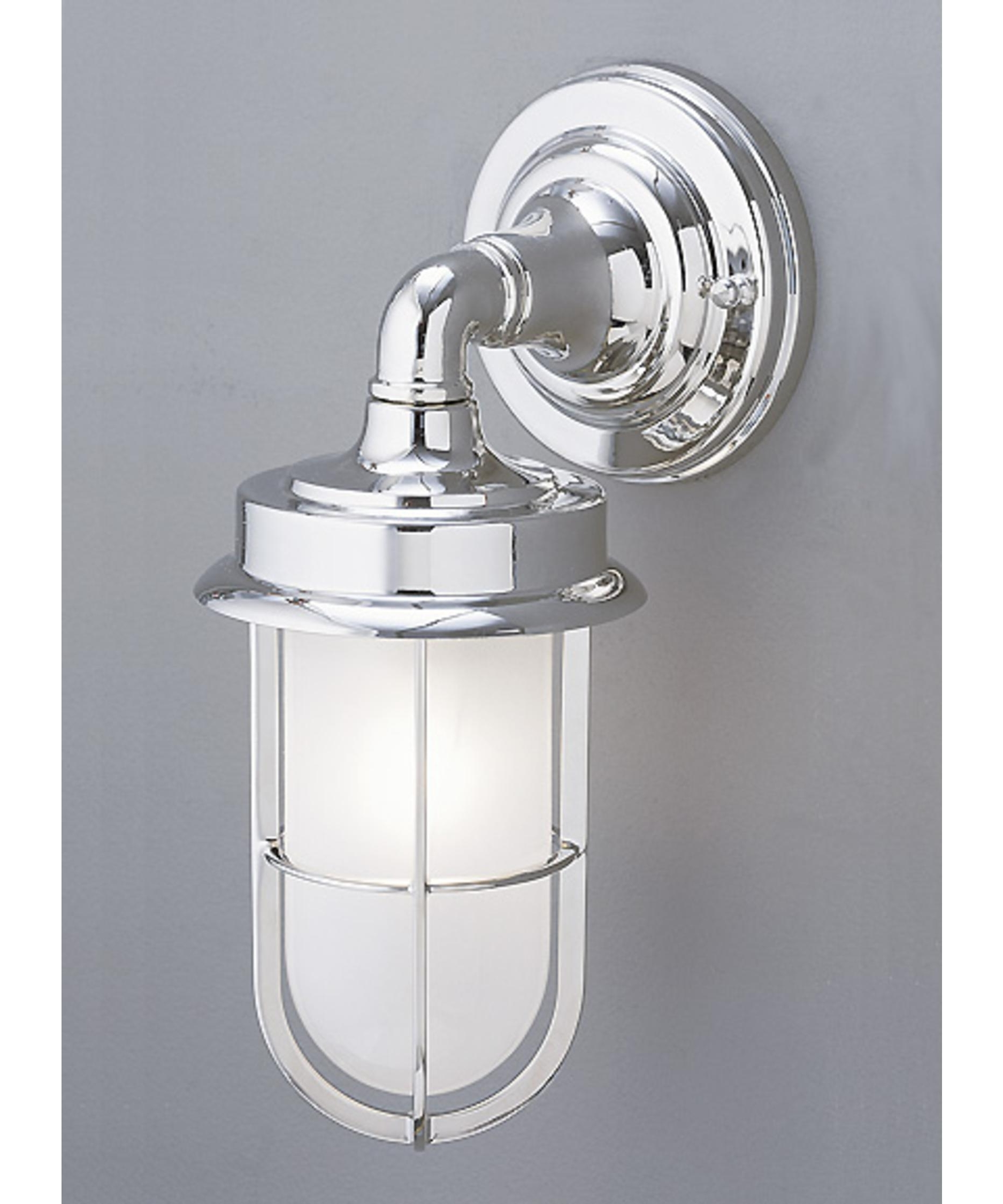 Featured Photo of Chrome Outdoor Wall Lighting
