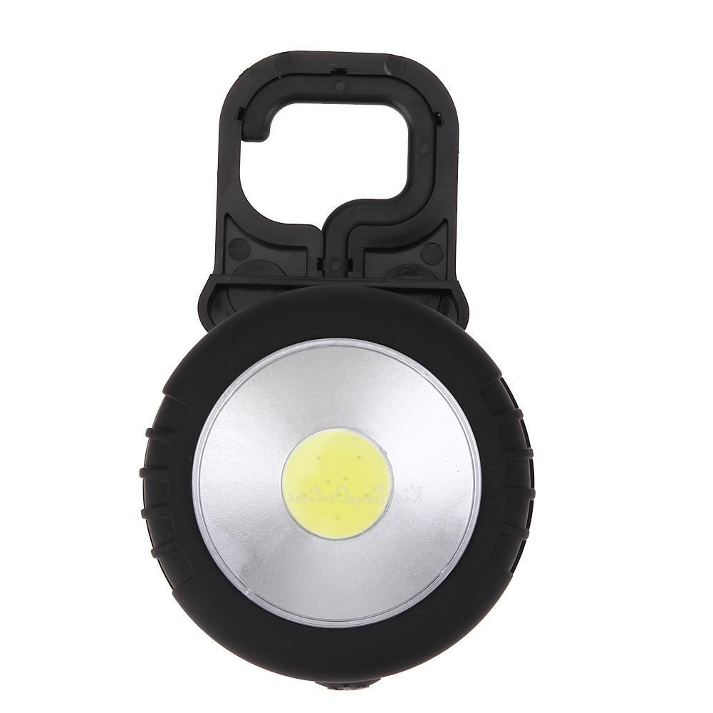 Cob Led Work Light Magnetic Flashlight W/ Hanging Hook Outdoor Intended For Well Known Outdoor Hanging Work Lights (View 2 of 20)