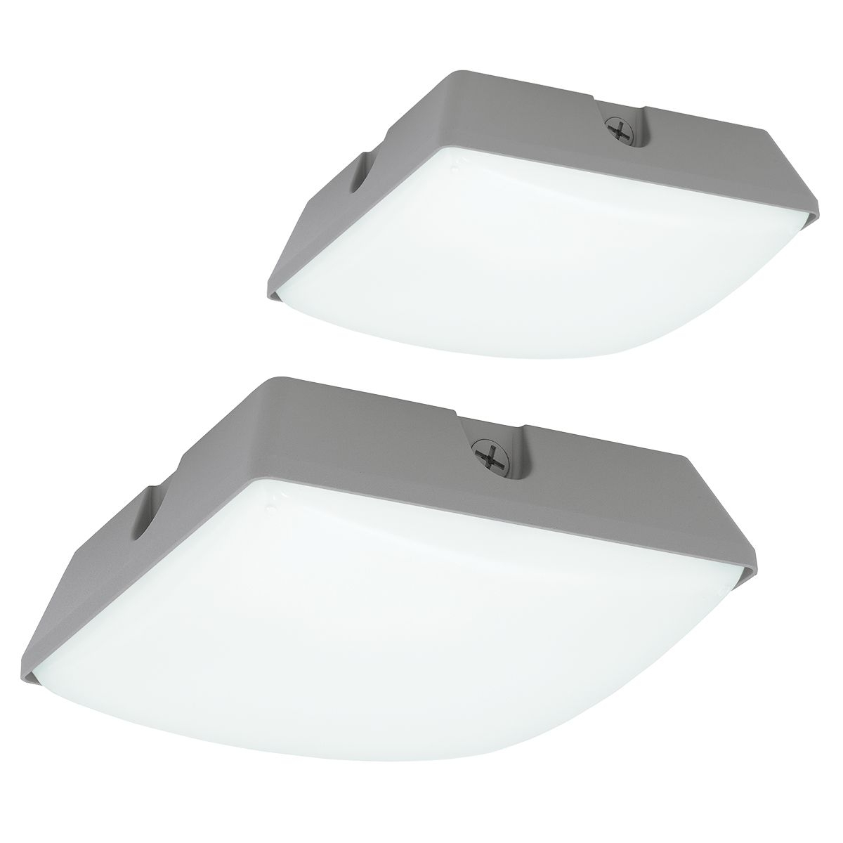 Commercial Outdoor Ceiling Lights Within Most Up To Date Lsq Lumasquare Series (View 2 of 20)