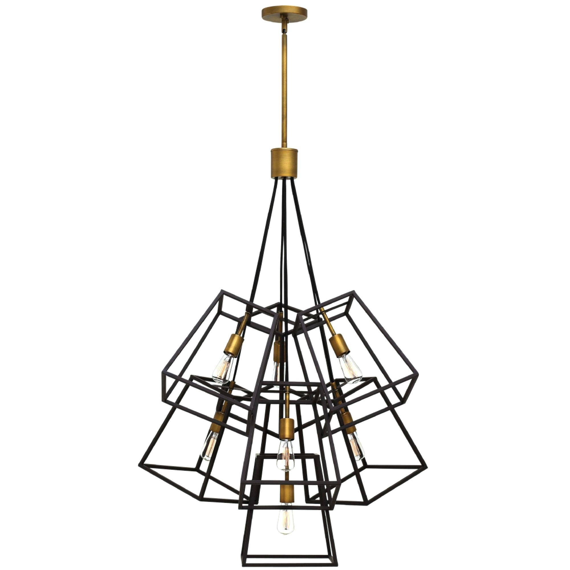 Contemporary Hinkley Lighting With Regard To Newest Chandeliers Design : Wonderful Multi Glass Pendant Chandelier Fulton (View 11 of 20)