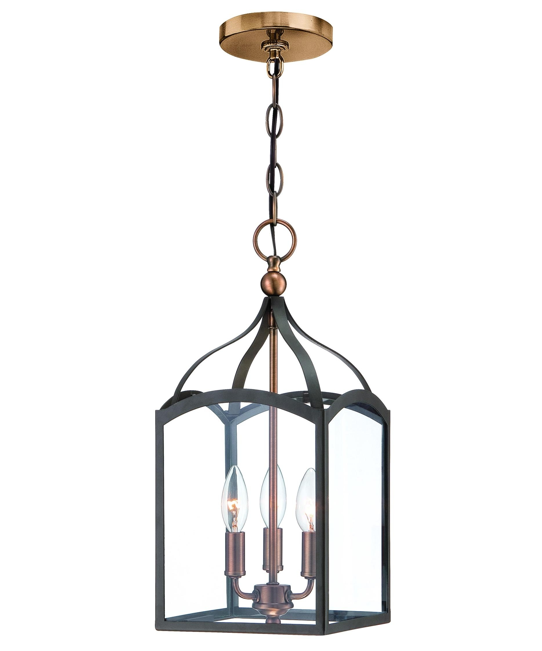 Contemporary Hinkley Lighting Within Trendy Hinkley Lighting 3413 Clarendon 8 Inch Wide Foyer Pendant (View 10 of 20)