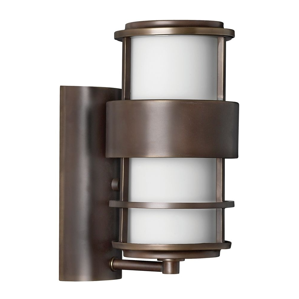 Contemporary / Modern Outdoor Wall Light Bronze Saturnhinkley In Well Liked Modern Outdoor Hinkley Lighting (View 2 of 20)