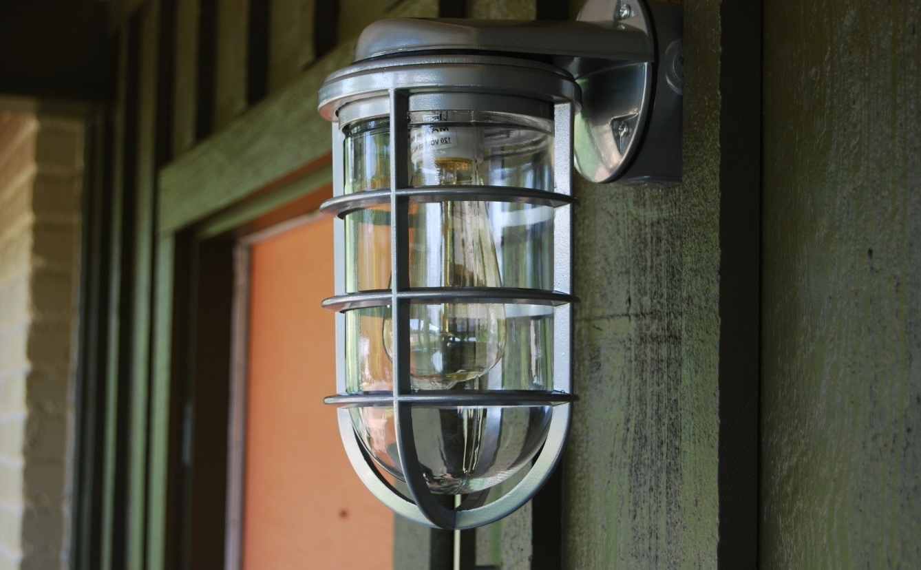 Contemporary Outdoor Lighting Fixtures Inside Popular Lamps Plus Contemporary Outdoor Lighting • Outdoor Lighting (View 19 of 20)