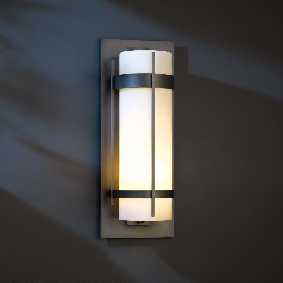Contemporary Outdoor Lighting Sconces In Preferred Lighting Bronze Wall Sconces Contemporary Wall Sconce Electric Large (View 2 of 20)